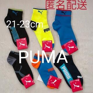 プーマ(PUMA)の【新品】PUMA ソックス 6足セット(靴下/タイツ)