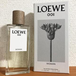 ロエベ(LOEWE)の《箱付》LOEWE 001 Woman EDP 100ml 香水(香水(女性用))
