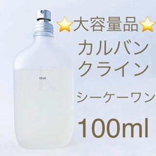 Calvin Klein - ⭐️大容量品⭐️カルバンクライン CK ONE EDT SP 100ml