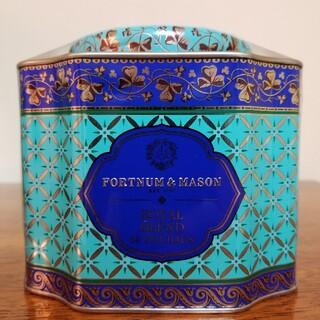ロイヤルブレンドティーバッグ50個 デコラティブ缶 フォートナム&メイソン(茶)