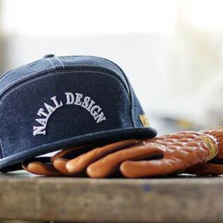 ネイタルデザイン(NATAL DESIGN)の新品 ネイタルデザイン natal design デニム キャップ CAP 帽子(キャップ)