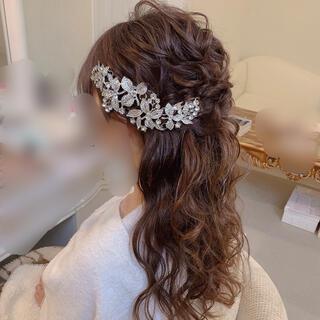【安値】ヘッドドレス 髪飾り 結婚式(ヘッドドレス/ドレス)