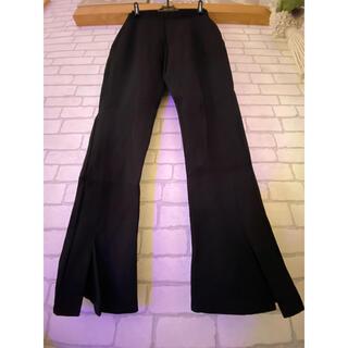 ザラ(ZARA)のフロンスリットレギンスパンツ 裾直し済み センタースリットレギパン ザラ(レギンス/スパッツ)