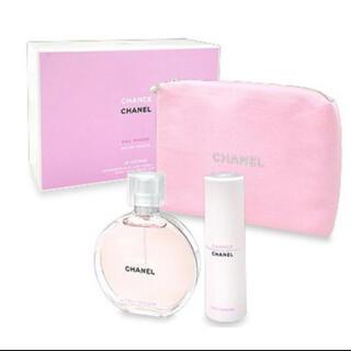 シャネル(CHANEL)のチャンス オータンドゥル 香水セット チャネルポーチ(ヘアウォーター/ヘアミスト)