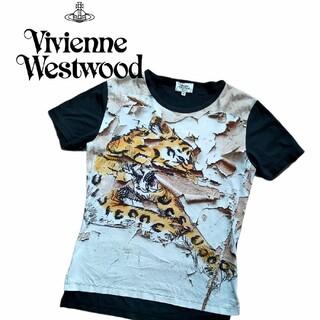 ヴィヴィアンウエストウッド(Vivienne Westwood)のVivienne Westwood ヴィヴィアンウエストウッド タイガーTシャツ(シャツ)