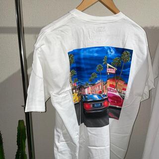 マクドナルド(マクドナルド)の新品 IN-N-OUT BURGER Tシャツ L(Tシャツ/カットソー(半袖/袖なし))