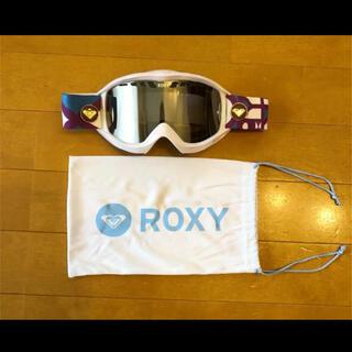 Roxy - roxy スノーゴーグル 美品