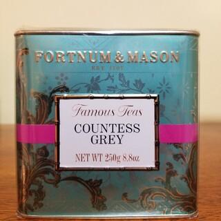 カウンテスグレイ250gルーズリーフ紅茶茶葉 フォートナム&メイソン(茶)