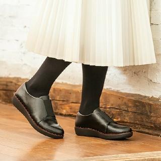 フィットフロップ(fitflop)の【新品】fit flopフィットフロップ レースレスダービー 24.5(ローファー/革靴)