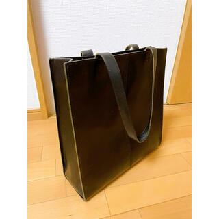 ツチヤカバンセイゾウジョ(土屋鞄製造所)の土屋鞄 ヌメ革 トートバック ブラック 廃盤(トートバッグ)