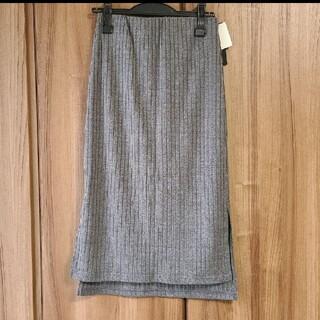 ジーナシス(JEANASIS)の【新品】イージースカート(ひざ丈スカート)