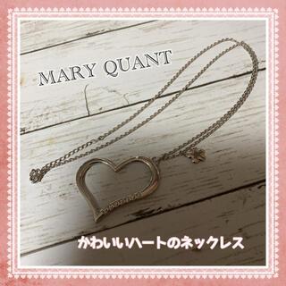 マリークワント(MARY QUANT)の*MARY QUANT*かわいいハートのネックレス(ネックレス)