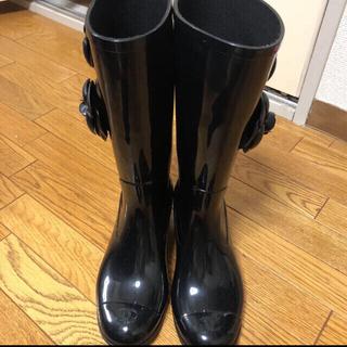 シャネル(CHANEL)のCHANELレインブーツ【※専用品です】(レインブーツ/長靴)