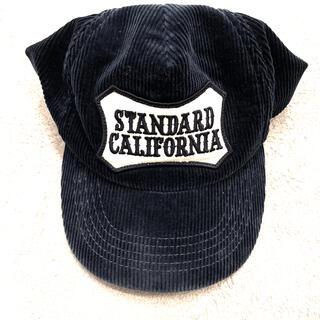 スタンダードカリフォルニア(STANDARD CALIFORNIA)のスタンダードカリフォルニア コーデュロイキャップ STANDARD CALIFO(キャップ)