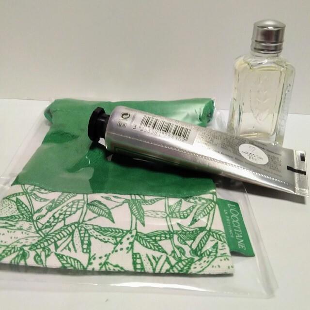 L'OCCITANE(ロクシタン)のロクシタン ヴァーベナ オードトワレ 10ml ハンドクリーム 30ml ポーチ コスメ/美容の香水(ユニセックス)の商品写真