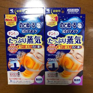 コバヤシセイヤク(小林製薬)ののどぬ〜る ぬれマスク 無香料 3セット入り×2箱(その他)