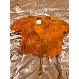 ドルチェアンドガッバーナ(DOLCE&GABBANA)のドルチェ&ガッバーナ トップス サイズS(Tシャツ(半袖/袖なし))