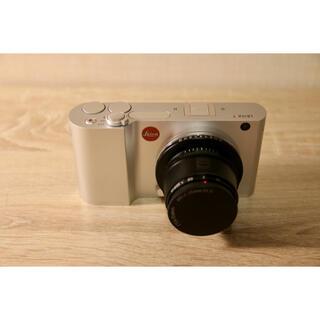 ライカ(LEICA)のLeica T TYP-701 SILVER ライカT + TT Artisan(コンパクトデジタルカメラ)