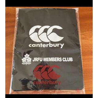 カンタベリー(CANTERBURY)のcanterbury JRFUメンバーズクラブ バッグ 非売品 ラグビー (ラグビー)