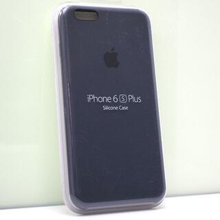 アップル(Apple)のiPhone 6sPlus/6Plus 用 Apple純正 シリコンケース 紺(iPhoneケース)