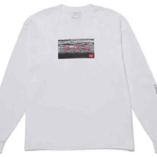 フラグメント(FRAGMENT)のGOD SELECTION XXX fragment ロンT Lサイズ 白(Tシャツ/カットソー(七分/長袖))