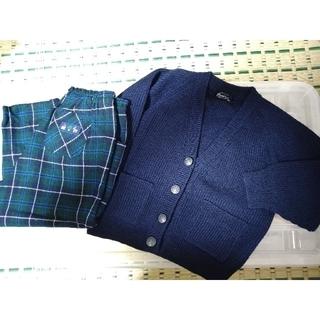 ファミリア(familiar)の子供カーディガンとズボンとポロシャツ(カーディガン)