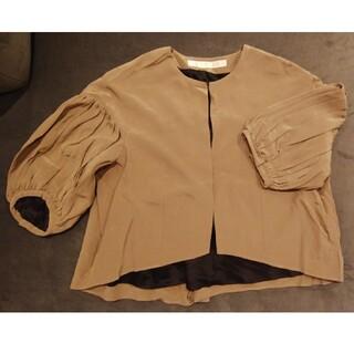 イエナ(IENA)のMARIHA マリハ マドモワゼルのジャケット シルク ボレロ(ノーカラージャケット)