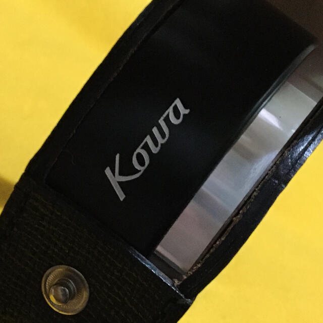 USTMamiya(マミヤ)のKOWA ビンテージメタルフード 美品良品 ケース付き コーワ スマホ/家電/カメラのカメラ(フィルムカメラ)の商品写真