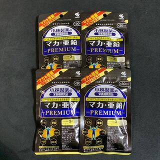 コバヤシセイヤク(小林製薬)の小林製薬 マカ・亜鉛PREMIUM 30日分 4個(ビタミン)