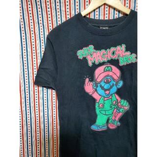 マジカルモッシュミスフィッツ(MAGICAL MOSH MISFITS)のレア!MxMxM マリオ パロディ Tシャツ(Tシャツ/カットソー(半袖/袖なし))