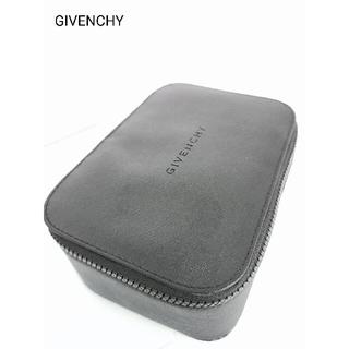 GIVENCHY - ジバンシー GIVENCHY ミラー付 コスメ ポーチ 収納 黒