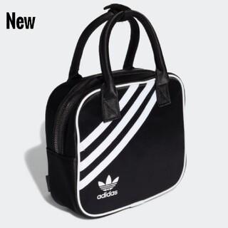 アディダス(adidas)の新品 adidas originals ハンドバッグ リュック 手さげ 黒(ハンドバッグ)