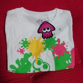ユニクロ(UNIQLO)の新品 ユニクロ スプラトゥーン2 キッズ Tシャツ100サイズ UNIQLO (Tシャツ/カットソー)