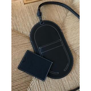 スマホケース ブラック GM ショルダー トゥーゴー ノワール 新品(スマホケース)