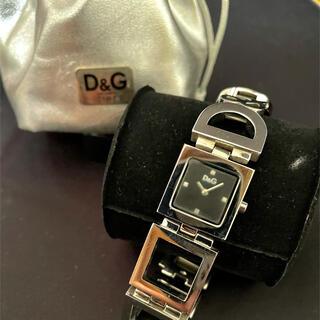 ドルチェアンドガッバーナ(DOLCE&GABBANA)のDOLCE&GABBANA NIGHT&DAY レディース SSベルト 時計(腕時計)