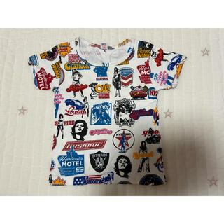 ヒステリックグラマー(HYSTERIC GLAMOUR)のヒステリックグラマー キッズ柄Tシャツ 110(Tシャツ/カットソー)