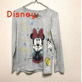 ディズニー(Disney)の長袖Tシャツ カットソー ディズニー ミニー(Tシャツ(長袖/七分))