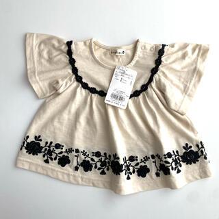 ブランシェス(Branshes)の❗️新品❗️ブランシェス チュニック 刺繍 トップス Tシャツ 半袖 80 90(Tシャツ)