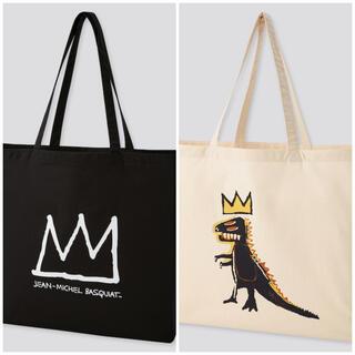 ユニクロ(UNIQLO)のUNIQLO Basquiat ユニクロ バスキア エコバッグ L 2点SET(トートバッグ)