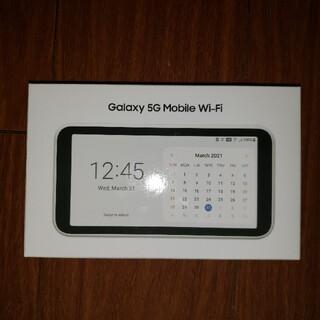 ギャラクシー(Galaxy)のWi-Fi 5G ポケットWi-Fi Galaxy ギャラクシー(PC周辺機器)