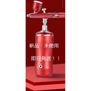 充電式エアーブラシ 赤(模型製作用品)
