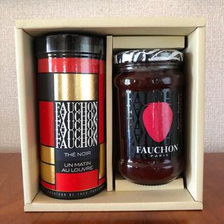 タカシマヤ(髙島屋)のフォション 紅茶、苺ジャム(茶)