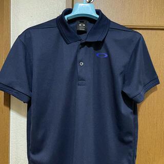 オークリー(Oakley)のオークリー ポロシャツ ネイビー(ポロシャツ)