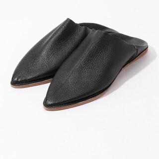 トゥモローランド(TOMORROWLAND)のtomorrowlandKECH LeS ESSENTIELS レザーバブーシュ(ローファー/革靴)
