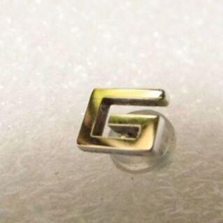 グッチ(Gucci)のグッチ K18WG 18金 ホワイトゴールド ピアス 片方(ピアス)