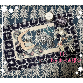 ミナペルホネン(mina perhonen)のミナペルホネン◎wolf & flower / go!手帳カバー/ブックカバー (その他)