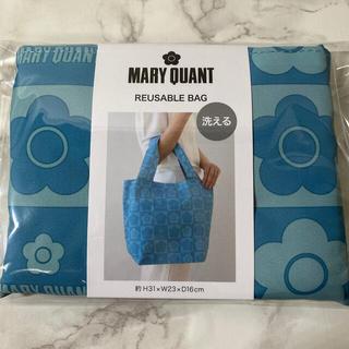マリークワント(MARY QUANT)の【未開封商品】新品 マリークワント 洗えるエコバッグ マイバッグ  (大) (エコバッグ)