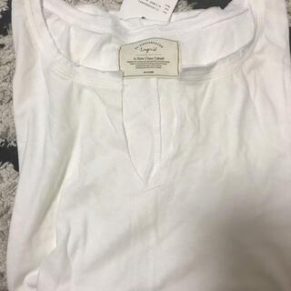 アングリッド(Ungrid)の新品タグ付 スリットネックロングスリーブロンT(Tシャツ(長袖/七分))
