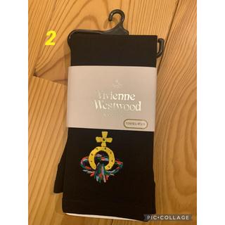 ヴィヴィアンウエストウッド(Vivienne Westwood)のヴィヴィアン様専用 新品ヴィヴィアンウェストウッド10分丈レギンス2点(レギンス/スパッツ)