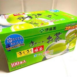 イトウエン(伊藤園)の伊藤園 おーいお茶 粉末タイプ スティック 100本入り1箱 (茶)